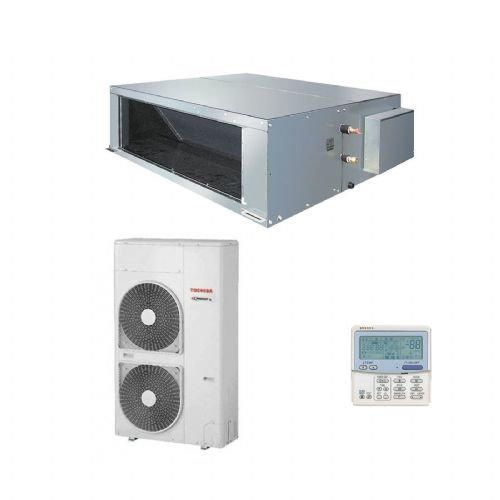 Toshiba Air Conditioning High Static Ducted RAV-SM2242DT-E 20Kw/68000Btu Heat Pump Inverter 415v~50Hz
